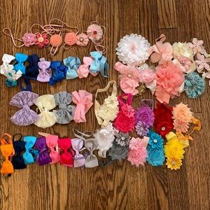 Other - 40+ Baby Girl Headband Bows